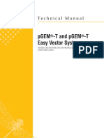 pGEM-T and pGEM-T Easy Vector Systems Protocol
