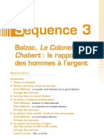 Etude Du Colonel Chabert