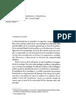 Materialismo Ontologico y Politica en Spinoza Deleuze y Guattari