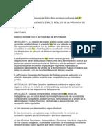 Ley de Empleado Pco Provincial