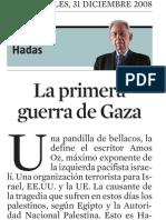 Samuel Hadas. La Primera Guerra de Gaza