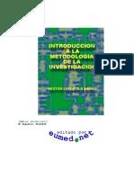 Introducción a la Metodología de la Investigación (libro).