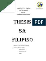 Filipino Thesis