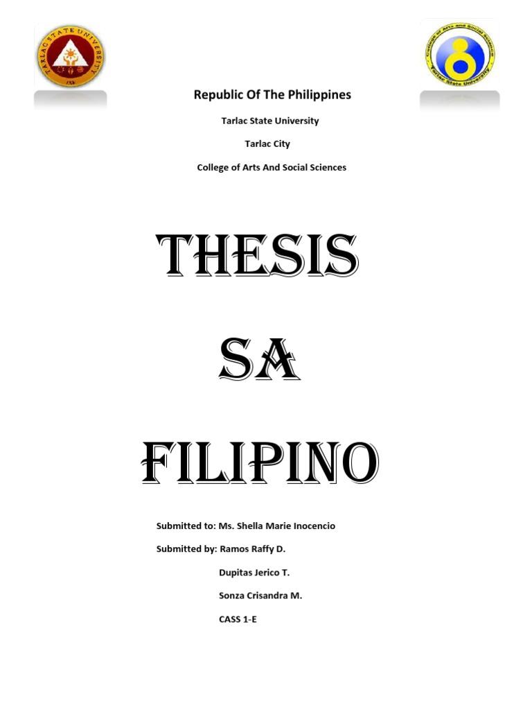 ano ang wegener thesis sa tagalog