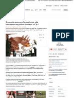 13-06-12 Economía mexicana, la cuarta con más crecimiento en primer trimestre, OCDE