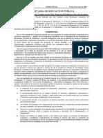 Plan y Programas de Estudio para Educación Secundaria del Diario Oficial en Mexico - Viernes 26 de mayo de 2006 - parte 1