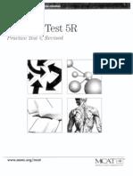MCAT Practice Test 5R