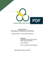 Relatório_Exp2_Introdução ao Laboratório de Eletrônica_Fundamentos de eletrônica_Trim3.2