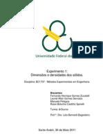 Relatório_Exp1_Dimensões e densidades dos sólidos_Métodos Experimentais em Engenharia_Trim3.2