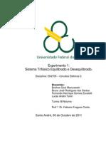 Relatório_Exp1_Sistema Trifásico Equilibrado e Desequilibrado_Circuitos Elétricos 2_Trim3.3