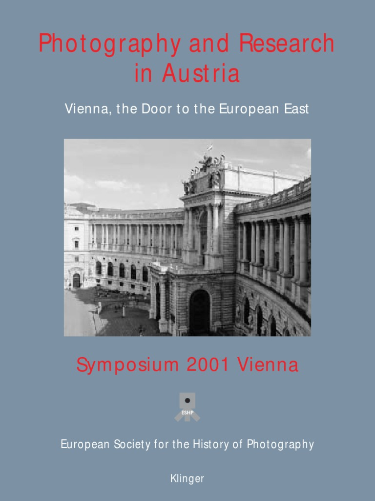 Photography And Research In Austria2001 | Photograph | Austria Hungary