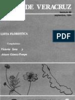 Lista Floristica 1