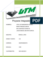 Proyecto Plan Maestro
