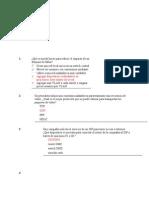 Examen CCNA 3 Discovery 2012
