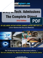 Guide to Engineering Admissions in India - 2012 Edition