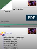(US) Sector Telecom