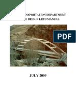 Bridge Design Manual_July09