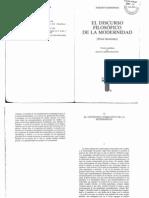 11-Habermas-El Contenido Normativo de La Modernidad