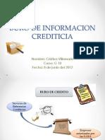 Buro de Informacion Crediticia Exposicion Cristina Villamarin