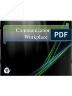 Communication at Workplace