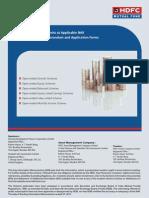 HDFC Mutual Fund List