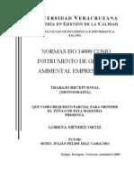 Norma ISO 14000 Como Instrumento de Gestion Ambiental Empresarial