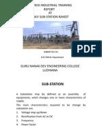 Six Week Industrial Training Final