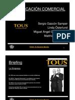 Marketing Tous Briefing Zaragoza Publicidad