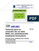 ASP.net Crear Web
