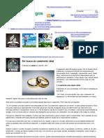 Em busca do casamento ideal _ Esperança Manaus – ARTIGOS