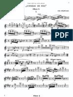 Stravinsky - Firebird Suite 1911 (Oboe 1)