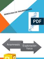 Semiología de traumatología