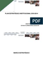 Plan Estrategico Institucional Del MEC