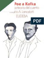De Poe a Kafka, Una Teoria Sobre El Cuento