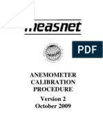 Measnet Anemometer Calibration v2 Oct 2009