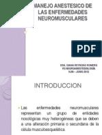 Manejo Anestesico de Las Enfermedades Neuromusculares