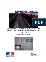 Metro Expreso de Lima - Resumen Ejecutivo - SYSTRA