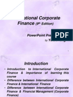 International Financial Management (Introduction)