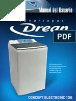 Lavarropas Drean Concep Electronic Cda 156