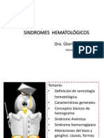 Sindromes hematológics