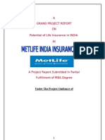 Complete Project Met Life India