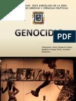 DIAPOSITIVAS GENOCIDIO