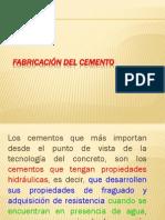 FABRICACIÓN DEL CEMENTO_VÍA SECA Y HÚMEDA ENERO 2012