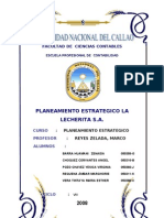 Planeamiento Estrategico - La Lecherita S[1].a.