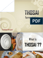 Thosai Fermentation