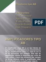 Amplificadores Tipo AB