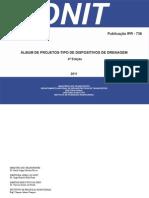 Album Drenagem 4 Edicao Publ IPR 736