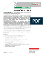 Castrol Longtime PD1 & PD2 Product Data Sheet