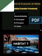Procedimiento de Evaluación de Hábitat