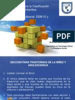 09-6-12 Métodos de DX Taxonomias DSM IV